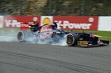 Formel 1 - Ein Fehler des Teams: Vergne und Ricciardo schwer frustriert