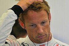 Formel 1 - Defizite bei aerodynamischer Effizienz: Button: Keine Intermediates mehr f�rs Rennen