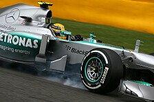 Formel 1 - Mit gutem Gef�hl nach Monza: Mercedes Vorschau: Italien GP