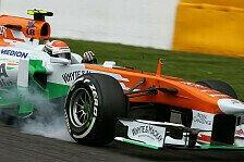 Formel 1 - Vorteil wie verflogen: Force India Misere: Opfer der neuen Reifen