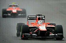 Formel 1 - Marussia tut sich schwer: Marussia Vorschau: Italien GP