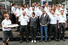 Formel 1 - Schweizer Euphorie durch Scherben?: Blog - Sauber: Lauter Knall f�r Platz f�nf
