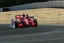 IndyCar - Franchitti knapp vor Dixon: Ganassi �bernimmt erste Startreihe in Sonoma