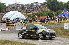 ADAC OPEL Rallye Cup - Griebel erneut bester Junior : Fahrner gewinnt beim WM-Lauf