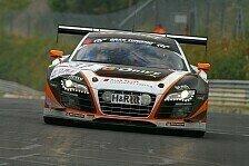 VLN - Hei�es Finale auf feuchter Strecke: Phoenix Racing holt letzte Saison-Pole