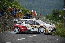 WRC - Ex-F1-Pilot Kubica bester WRC2-Pilot: Sordo feiert in Deutschland ersten WRC-Sieg