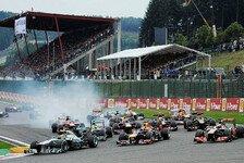 Formel 1 - Mehr Mut in Spa: Pirelli: Reifenwahl bis zum Singapur GP