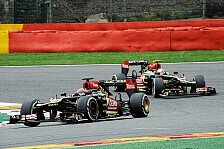 Formel 1 - Lotus mit Grosjean in den Punkten: R�ikk�nen: Erster Ausfall nach 39 Rennen