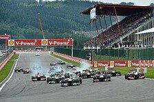 Formel 1 - 21 Rennen in der neuen Saison: Erster Kalenderentwurf f�r 2014 aufgetaucht