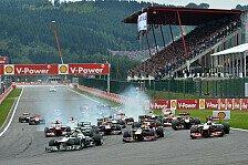 Formel 1 - Fahrer einig: Motorpower entscheidet: Belgien GP: Die Stimmen vor dem Wochenende
