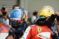 Formel 1 - Schauen wie die Dinge stehen: WM-Kampf: Ferrari wartet bis Singapur ab