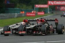 Formel 1 - Grosjean: Musste Kimi so oft vorbei lassen