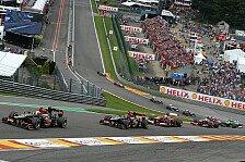 Formel 1 - Mercedes-Vorteil gr��er denn je?: Renault: Spa die h�rteste Motoren-Strecke