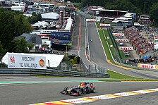 Formel 1 - Letzter Schwachpunkt der Bullen beseitigt?: Topspeeds in Spa: Red Bull �berrascht