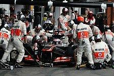 Formel 1 - Haben den Anspruch, Rennen zu gewinnen: McLaren: Wir entwickeln weiter f�r 2013