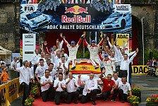 WRC - Start- und Zielort bis 2016: Rallye Deutschland startet 2014 wieder in Trier