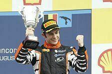 GP2 - Quaife-Hobbs mit Blitzstart aufs Podium: Erneuter Podestplatz f�r Hilmer Motorsport