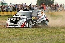 Mehr Rallyes - Endspurt im Saarland und Roadshow in Luxembourg: Wallenweins im Auto und am Ball