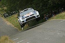 WRC - Neue Wertungspr�fung im belgischen Grenzgebiet: Alles im Plan f�r die ADAC Rallye Deutschland 2014