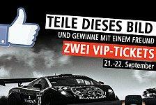 Blancpain GT Serien - Live am N�rburgring dabei: Gewinnspiel: VIP-Tickets Blancpain Race Weekend