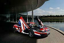 Formel 1 - Auch Button unterst�tzt Kampagne f�r Gro�britannien: McLaren zeigt 12C in Speziallackierung
