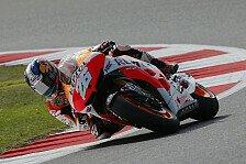 MotoGP - Superstarter Dani ist gefordert: Pedrosa nach Fehler nur F�nfter