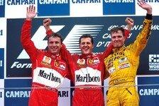 Formel 1 - Bilderserie: Die Podien seit 1985 in Monza