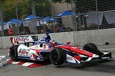 IndyCar - Castroneves schw�chelt: Houston: Sato im ersten Rennen auf Pole