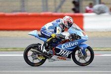 Moto3 - Folger steigert sich auf Drei: Vinales f�hrt trotz Sturz im Warm-Up