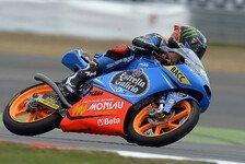 Moto3 - Schrecksekunde f�r den WM-Leader: 2. Training: Rins vorne, Salom st�rzt