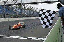 ADAC Formel Masters - Erster Sieg eines Rookies in der Saison 2013 : Maximilian G�nther feiert Deb�tsieg