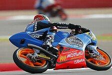 Moto3 - Folger ohne Schmerzmittel auf Zehn: Rins toppt die ersten Trainings
