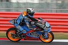Moto3 - KTM-Piloten starten aus Reihe eins und zwei: Rins schiebt sich zwischen Vinales & Salom