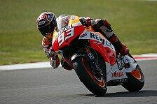 MotoGP - WM-Leader startet dennoch: Marquez: Schulterverletzung nach Sturz