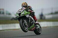 Superbike - Gute Zeiten und R�ckenschmerzen: Baz-R�ckkehr bei Kawasaki-Tests f�r 2014