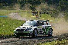 Mehr Rallyes - Vielleicht die schnellste Pr�fung meines Lebens: ERC: Wiegand vor Finaltag F�nfter in Tschechien