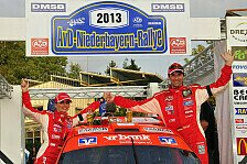 DRS - Drei Porsche auf dem Podest in Aussernzell: Dobberkau siegt bei Rallye Niederbayern
