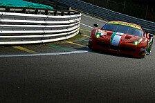 WEC - Aston Martin und 8 Star r�cken auf: Regelversto�: AF Corse verliert GTE-Am-Pole