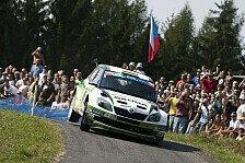 Mehr Rallyes - Wiegand/Christian bestes ausl�ndisches Team: ERC: Wiegand �berzeugt als Vierter in Tschechien
