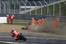 MotoGP - Auch B�nder in Mitleidenschaft gezogen: Marquez zur Nachuntersuchung