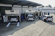 WRC - Bilderserie: Volkswagen Logistik-Know-how