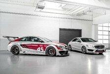 Mehr Sportwagen - CLA 45 AMG Racing Series