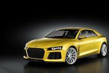 Auto - Kraftvolles Design angelehnt an den Motorsport: Audi Sport quattro concept vorgestellt