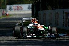 Formel 1 - Zu wenig Stabilit�t im Heck