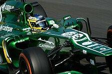 Formel 1 - Kommunikationsprobleme bei van der Garde: Caterham: Zwei Stopps, kein Erfolg