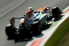 Formel 1 - Fahrertausch nur mit verlockendem Grund: Force India wartet auf Lotus-Entscheidung