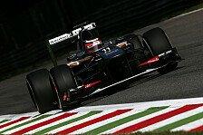 Formel 1 - Sensationell! Fantastisch!: H�lkenberg: Monza-Sensation mit Ferrari-M�hre