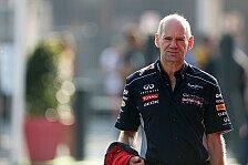 Formel 1 - Neue Herausforderung: Newey bei Red Bull vor dem Aus?