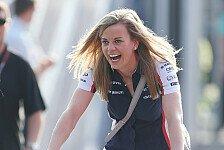 Mehr Motorsport - Mit David Coulthard f�r Team GB: Susie Wolff beim Race of Champions