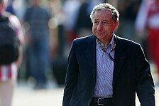 Formel 1 - Weitere vier Jahre: Todt als FIA-Pr�sident wiedergew�hlt